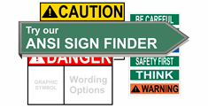ANSI Safety Signs - Labels