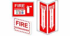 Fire Safety / Fire Exit Signs