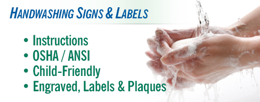 Handwashing Signs & Labels