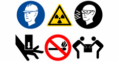 Safety Symbol Stickers