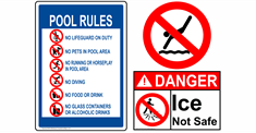 Water Safety / Pool Rules