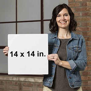 14 x 14 Label Size Reference