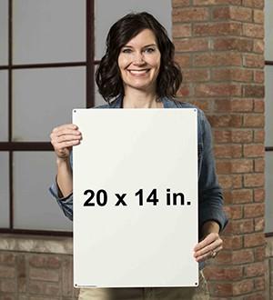 20 x 14 Standard Size Reference