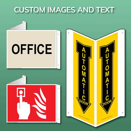 Custom > Blank > Sign